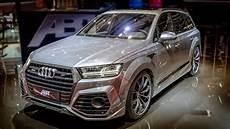 Abt Audi Sq7 Genfer Autosalon 2017