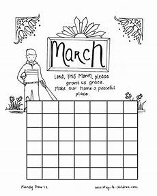 calendar coloring pages 17570 march coloring page calendar sheet