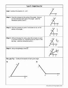 geometry constructions instructions with practice by all things algebra
