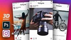 instagram 3d foto effekt photoshop tutorial 16 psd