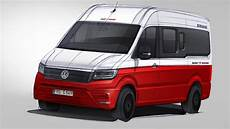 Vw Crafter 2017 Wohnmobil - cuv statt kastenwagen knaus kn 246 pft sich den vw crafter vor