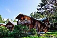 Holzhaus Mandrogi Russland