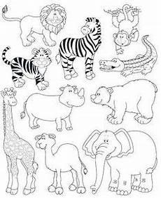 ausmalbild zoo ausmalbilder kinder basteln und malen