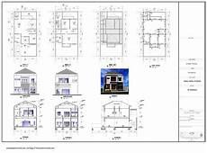 Contoh Gambar Desain Rumah Dan Denah Lengkap Informasi