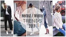 Das Wird Herbst Winter 2017 Trend Modetrends 2017