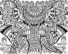 elephant zentangle coloring pages at getdrawings com free for personal use elephant zentangle