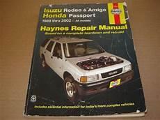 free service manuals online 1994 isuzu amigo transmission control find 1989 02 isuzu rodeo amigo honda passport shop service repair manual2 2 2 3 2 6l motorcycle