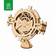 Newest Wooden Puzzle Assembly Gift Children aliexpress buy robud new arrival diy 3d perpetual