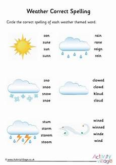 weather spelling worksheets 14679 weather vocabulary and spellings