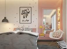 Jugendzimmer Wandgestaltung Farbe Mädchen - kinderzimmer wandgestaltung maedchen rosa akzentwand