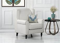 livingroom accent chairs classic scroll arm faux leather accent chair living room