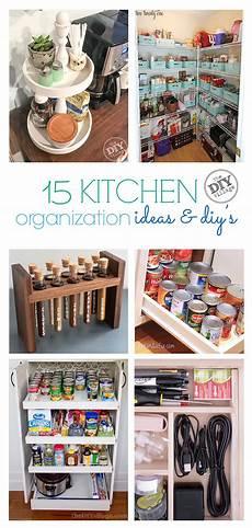 15 great kitchen organization ideas and diy s the diy village