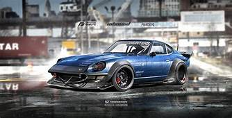 ArtStation  Inbound Racer 240Z Datsun Nissan V2 Al Yasid