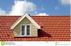 Rotes Dach Stockbild Bild Amerika Dormer Haus