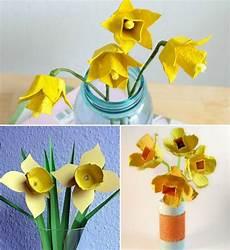 Blumen Aus Eierkartons Selber Machen Basteln