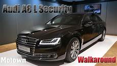 audi a8 l security walkaround features motown india
