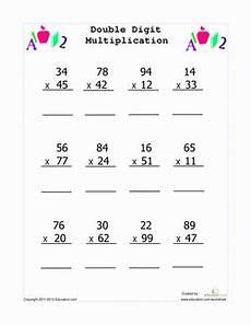 3rd grade math worksheets 2 digit multiplication 4869 digit multiplication with images digit multiplication multiplication