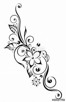 The Royalty Free Vector Quot Ranke Flora Blumen