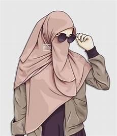 85 Gambar Kartun Muslimah Cantik Imut Bercadar