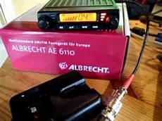 albrecht ae 6110 president liberty wireless mikrofon an einer albrecht ae