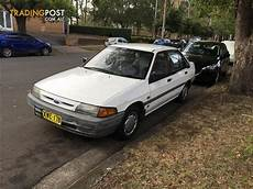 1989 used ford laser automatic gl hatchback car sales coolangatta qld excellent 1 800 1991 ford laser gl kh 4d sedan
