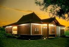 Desain Rumah Joglo Bergaya Modern Di Jawa Tengah Konsep