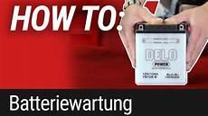 how to motorrad batteriewartung