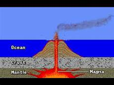 formation of volcanic islands youtube
