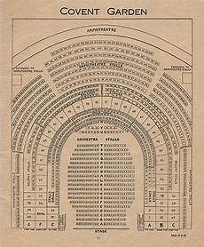 royal opera house covent garden seating plan covent garden theatre vintage seating plan west end