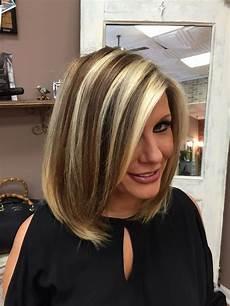bold chunk highlights bob modern techniques my passions in 2019 hair hair streaks
