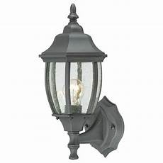 lighting covington 1 light black outdoor wall lantern sl92237 the home depot