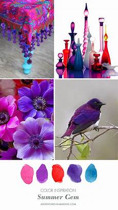 color inspiration summer gem