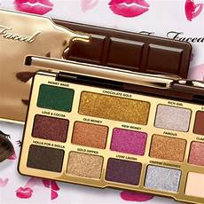 Faced Chocolate Gold Bar best faced chocolate gold palette retails for 49 for