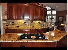 Backsplash Ideas for Granite Countertops Kitchen   YouTube
