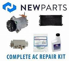 automotive air conditioning repair 2007 pontiac g6 parking system pontiac g6 2007 2009 l4 2 4l complete a c repair kit new compressor with clutch ebay