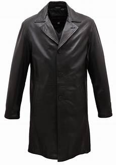 romantique pour homme 54012 manteau cuir homme trois quart