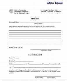 free 28 sle affidavit forms in pdf