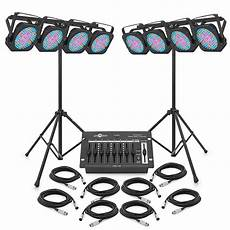 led set 1152 x 10mm flat led par set by gear4music at gear4music