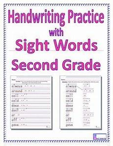 free handwriting worksheets 2nd grade 21744 handwriting practice with second grade sight words writing practice worksheets writing