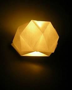 origamise la lumi 232 re les chosettes diy applique murale