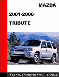 free service manuals online 2006 mazda tribute interior lighting mazda tribute 2001 2007 factory service repair manual tradebit