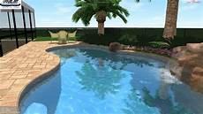 lake worth pool 3d swimming pool design rock waterfall