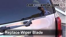 repair windshield wipe control 2004 buick rainier security system rear wiper blade change buick rainier 2004 2007 2004 buick rainier cxl plus 4 2l 6 cyl