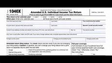 when and how to file an income tax amendment youtube