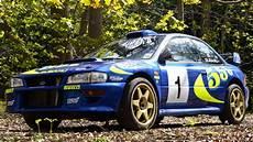 colin mcrae s subaru impreza wrc test car sells for nearly