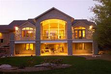 home plans with basement walkout basement house plans stinson s gables oke woodsmith building systems inc basement
