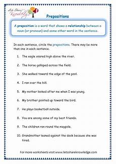 preposition worksheets for grade 10 with answers 3 grade worksheets artgumbo
