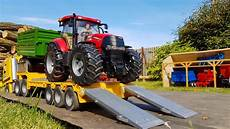 bruder rc tractors farm sawdust transport