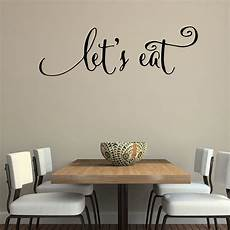 wall sticker decal quotes wall quotes decals let s eat kitchen quotes stickers