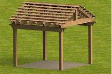 plans for pergola attached to house detailed step by step building plans by sandmann